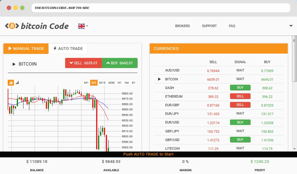 Manual and auto trading