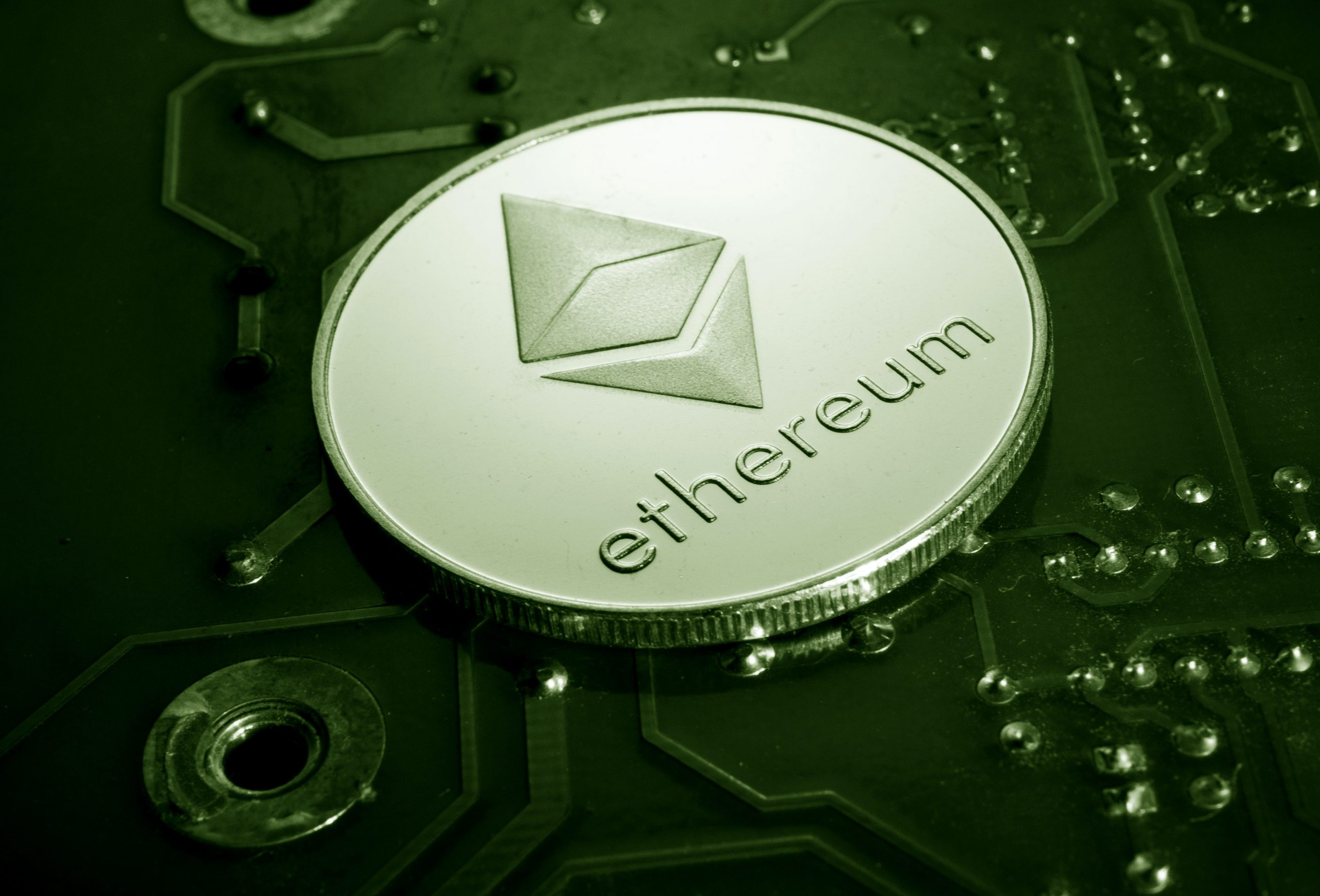 The Ethereum network's hash rate reached 646.7 TH/s