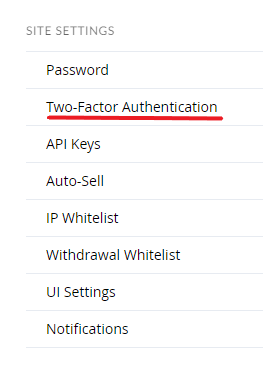 two-factor authentication
