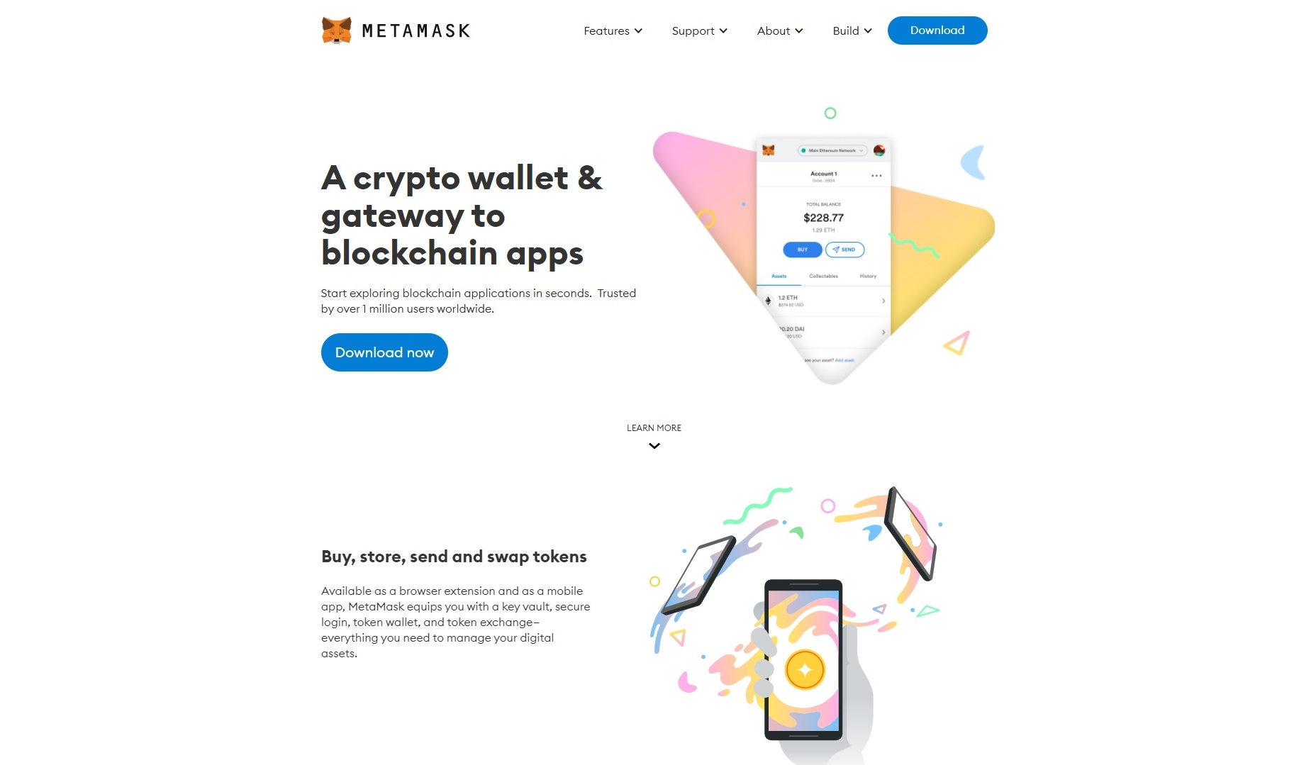 About the wallet