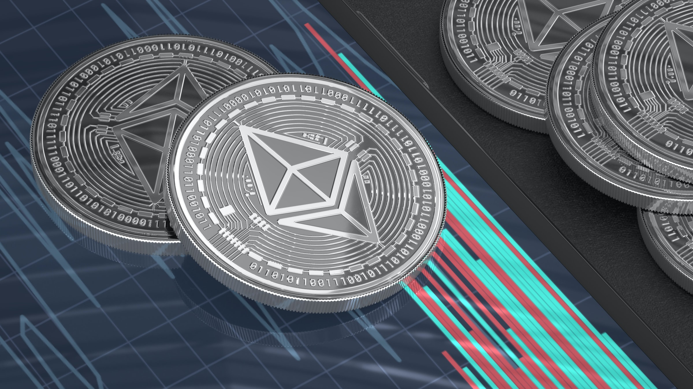 Ethereum's daily issuance turned negative for the first time